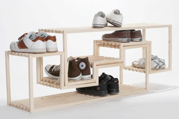 THE ZIG-ZAG - a simple shoe-rack - rashi.vachhani